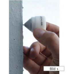 Prisme de précision 17,5 mm av pointe