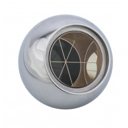 Prisme sphérique inox poli Ø 30 mm