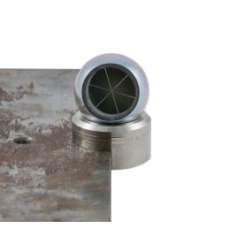"""Prisme sphérique acier galvanisé Ø 1,5"""" (38,1 mm)"""