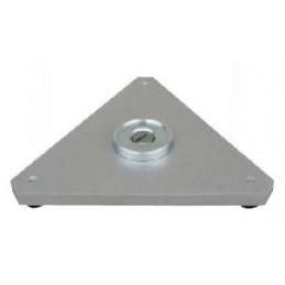 """Embase triangle pour cibles av hémisphère Ø 1,5"""" (38,1 mm)"""