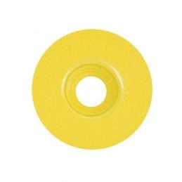 Rondelle calibel pour pointe striée jaune