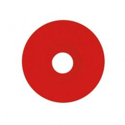 Rondelle calibel pour pointe striée rouge