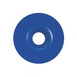 Rondelle calibel pour pointe striée bleu